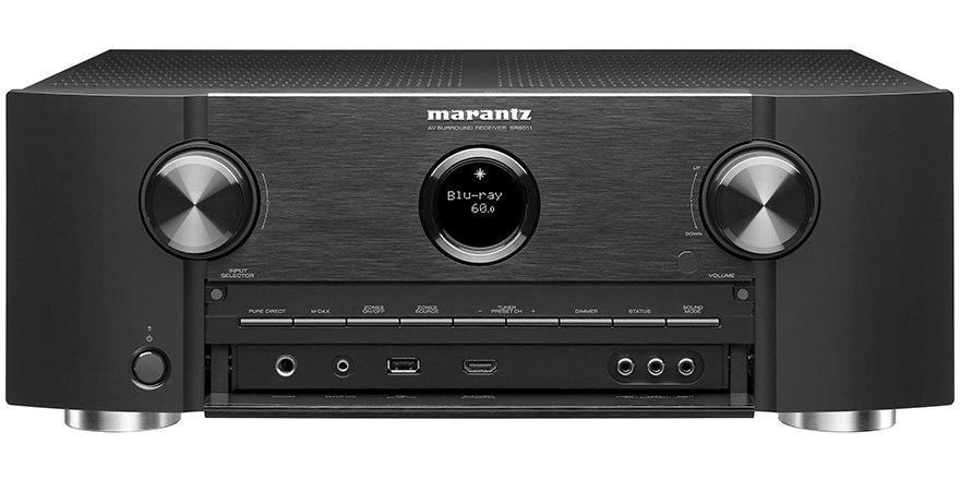 Marantz SR6011 with Open Front Panel
