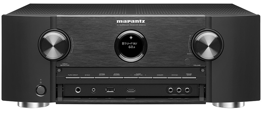 Marantz SR6012 with Open Front Panel