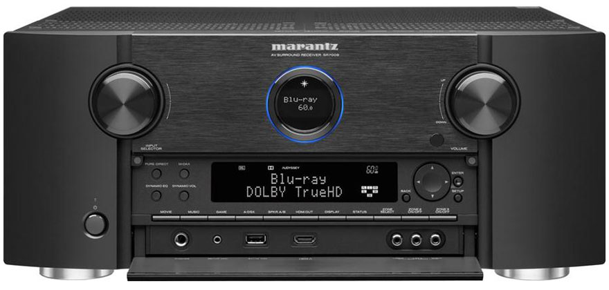 Marantz SR7008 With Front Panel Open