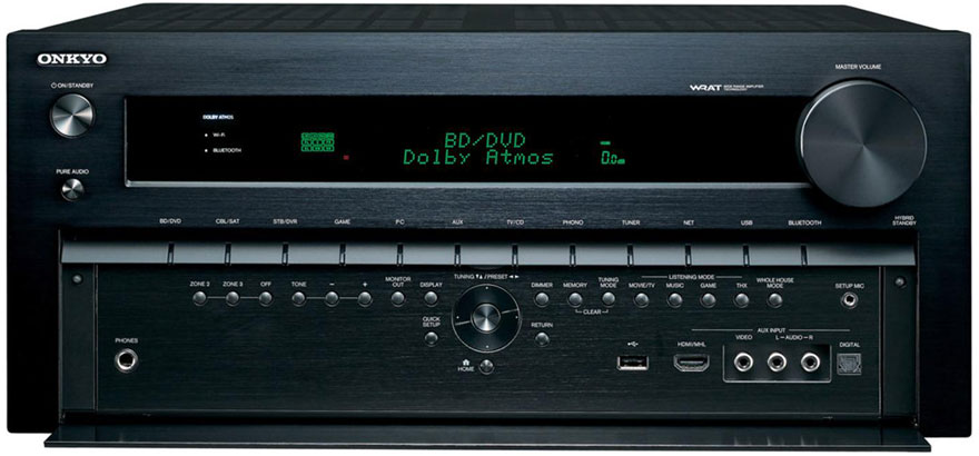 Onkyo TX-NR3030 with Front Panel Buttons