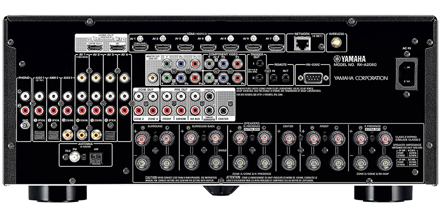 yamaha rx a2060 review