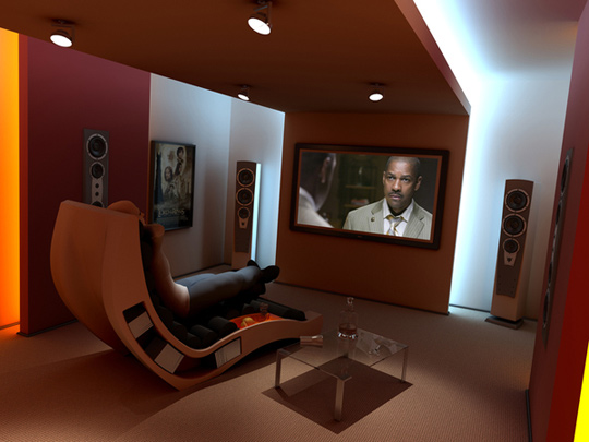 Comfortable Home Theater Seats